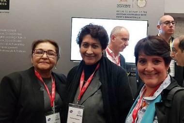 Ena Elsa Velázquez, ministra de Educación de Cuba en Reino Unido