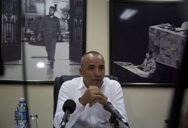 Ernesto Soberón, director de Asuntos Consulares y Cubanos Residentes en el Exterior (DACCRE). Foto: Ismael Francisco/Cubadebate.