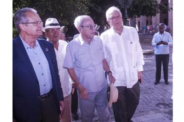 El Canciller de España resalta labor de Eusebio Leal en la conservación del Patrimonio de Cuba Fotos: José Tito Meriño/ PL