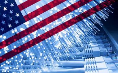 Imagen alegórica a Estados Unidos y el uso de la tecnología para la subversión en Cuba.