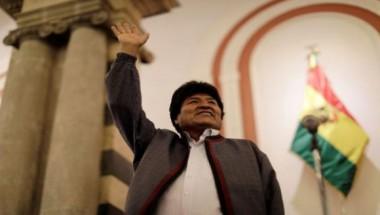 Evo Morales es reelegido presidente de Bolivia: Obtiene 46.8 por ciento de los votos