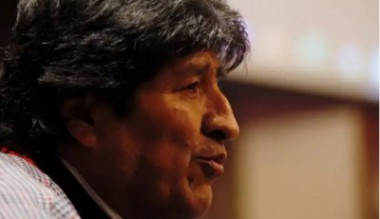 El presidente en exilio de Bolivia, Evo Morales durante conferencia de prensa el pasado 20 de noviembre de 2019.
