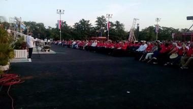 La Plaza de Pinar del Río en el acto por el 26 de Julio