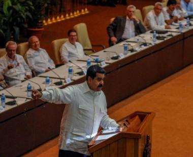 Nicolás Maduro en el Foro de Sao Paulo