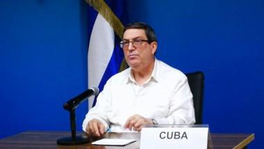 El Canciller cubano participa en la XX Reunión por videoconferencia de la CELAC Foto: Cuenta oficial en Twitter