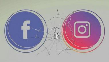 Logos de Facebook e Instagram