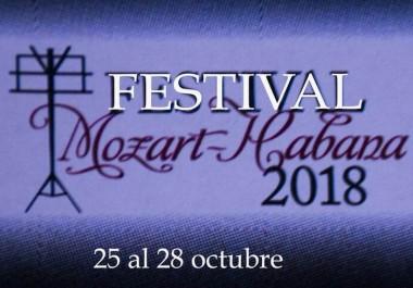 Festival Mozart-Habana 2018