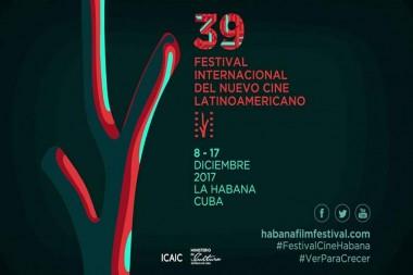 Banner alegórico al 39 Festival de Cine Latinoamericano