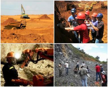 Geólogos-mineros cubanos