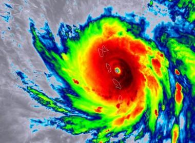 Ojo del huracán María