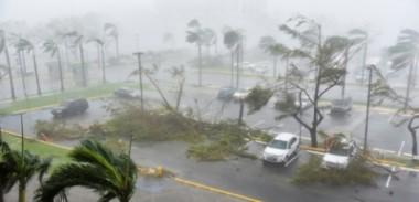 Imagen de un huracán