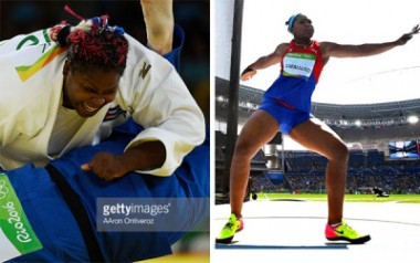 Idalys y Denia mejores atletas cubanas 2016.