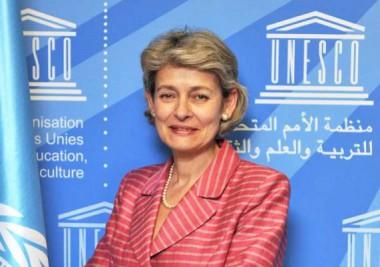 directora general de la Organización de las Naciones Unidas para la Educación, la Ciencia y la Cultura (UNESCO), Irina Bokova