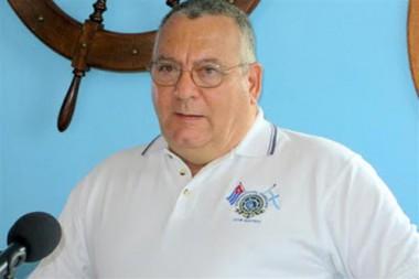 Comodoro del Club Náutico Internacional Hemingway de Cuba (CNIH), José Miguel Díaz Escrich