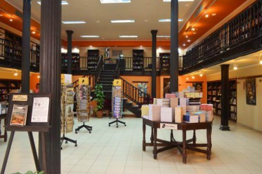 Librería Fayad Jamís, en Obispo 261, entre Cuba y Aguiar, en el Centro Histórico capitalino.