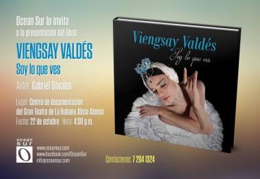 Portada del libro Viengsay Valdés, Soy lo que ves