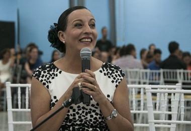 Lizt Alfonso, Directora de la compañía. Foto: Irene Pérez/ Cubadebate
