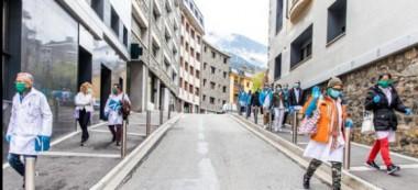 Los 39 sanitarios cubanos inician periodo de formación en Andorra