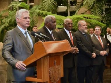 Dialogó Miguel Díaz-Canel con cuerpo diplomático acreditado en Cuba