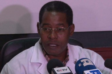 Director del Hospital Universitario General Calixto García, Carlos Alberto Martínez