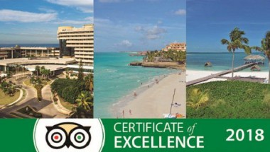Certificados de Excelencia TripAdvisor 2018 para once hoteles Meliá de Cuba