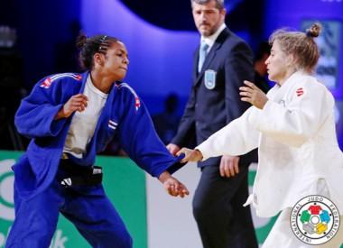 Pelea de Judo de la cubana Melissa Hurtado