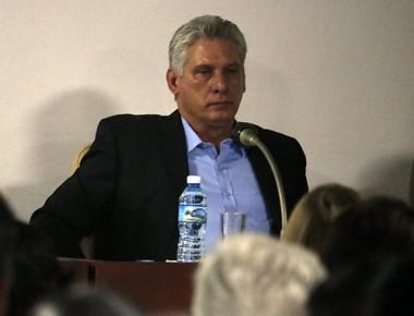 Miguel Díaz-Canel participa en trabajo en comisiones de la Asamblea Nacional
