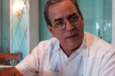 Ministro de Educación Superior de Cuba, José Ramón Saborido