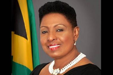 Ministra de Cultura, Género, Entretenimiento y Deporte de Jamaica, Olivia Grange