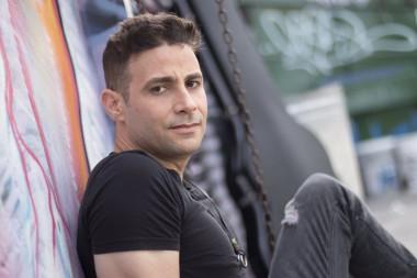 Nassiry Lugo, líder de la reconocida banda cubana de rock Moneda Dura