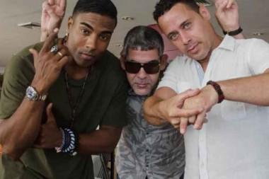 El trío cubano Orishas