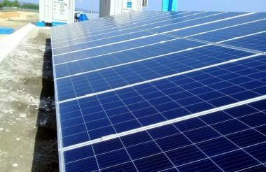 Parque solar fotovoltáico en Yaguajay