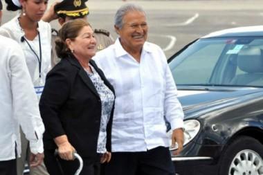 Arribó a Cuba el presidente de la República de El Salvador