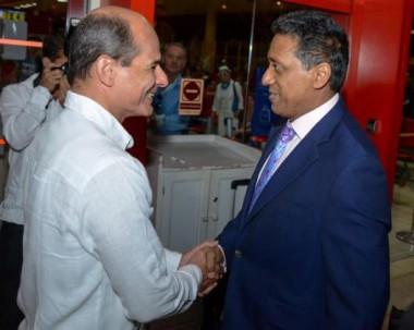 En Cuba Presidente de Seychelles en visita oficial
