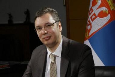 El presidente de Serbia, Aleksandar Vucic