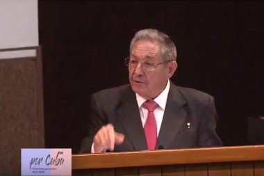 Raúl Castro rechaza recrudecimiento de bloqueo de EE.UU. contra Cuba