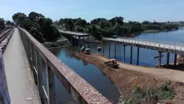 Prosigue restauración del puente sobre el río Zaza