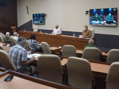 Grupo temporal de trabajo del Gobierno — que encabezan el presidente de la República, Miguel Díaz-Canel Bermúdez, y el primer ministro, Manuel Marrero Cruz