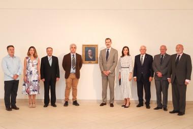 Reyes de España visitan Museo Nacional de Bellas Artes