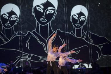 Lizt Alfonso Dance Cuba cerró el espectáculo con fragmentos de