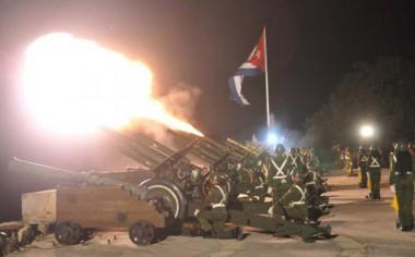 Serán disparadas 21 salvas de artillería desde la Fortaleza de San Carlos de la Cabaña, en La Habana
