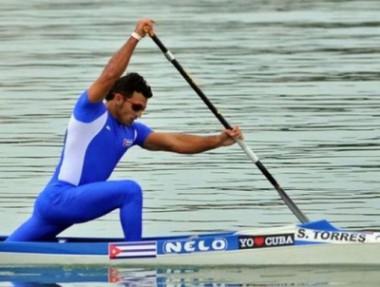 Serguey Torres lidera canotaje cubano