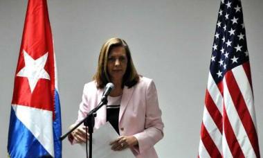 Josefina Vidal, directora general de Estados Unidos del Ministerio de Relaciones Exteriores.