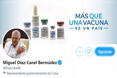 Twitter de Miguel Díaz Canel