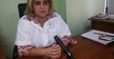 La doctora Yadira Olivera, subdirectora provincial de Salud en la capital cubana