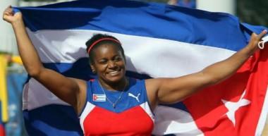 Campeona olímpica Yipsi Moreno González