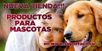 Tienda de productos para mascotas
