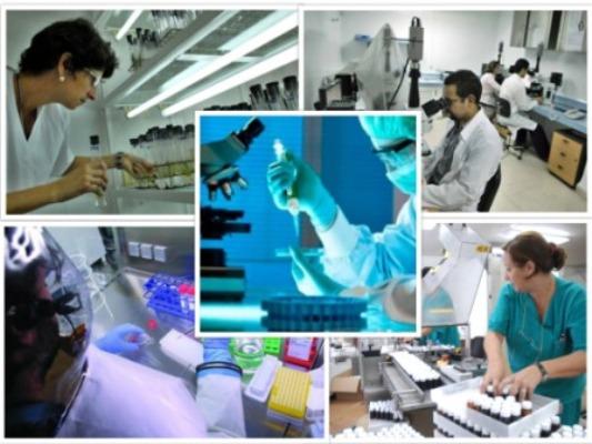 Imágenes de la ciencia cubana.
