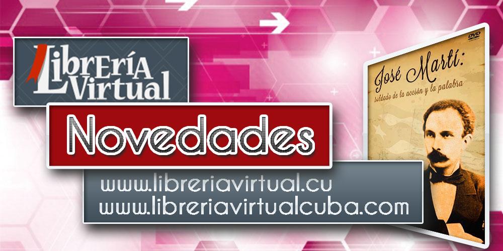 Banner alegórico a las novedades de la Librería Virtual